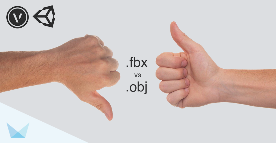 .FBX vs .OBJ Vectorworks Export for Unity