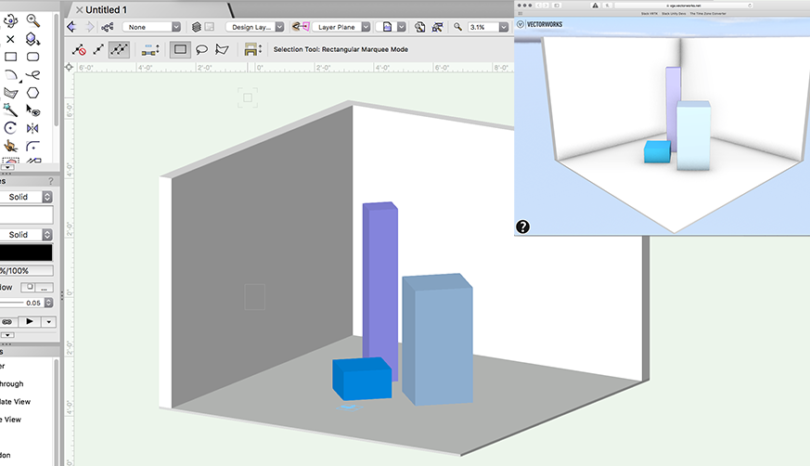 Vectorworks Export to Web Viewer