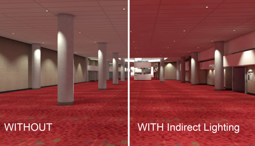 Indirect & Ambient Lighting in Vectorworks Renderworks
