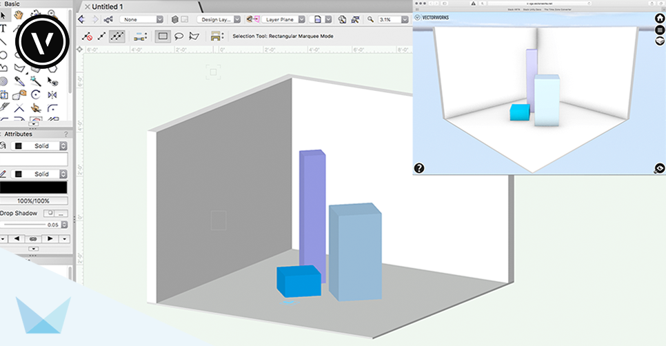 Vectorworks Export to Web View